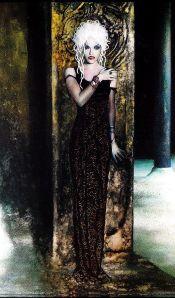haunting woman